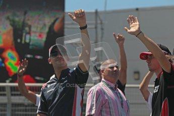 © 2012 Octane Photographic Ltd. European GP Valencia - Sunday 24th June 2012 - F1 Drivers Parade. Digital Ref : 0373lw1d6729