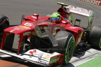 © 2012 Octane Photographic Ltd. European GP Valencia - Saturday 23rd June 2012 - F1 Qualifying. Ferrari F2012 - Felipe Massa. Digital Ref : 0370lw7d1719