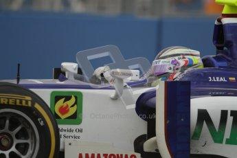 © 2012 Octane Photographic Ltd. European GP Valencia - Friday 22nd June 2012 - GP2 Practice - Trident Racing - Julian Leal. Digital Ref : 0369lw7d0258