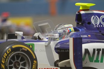 © 2012 Octane Photographic Ltd. European GP Valencia - Friday 22nd June 2012 - GP2 Practice - Trident Racing - Julian Leal. Digital Ref : 0369lw7d0322