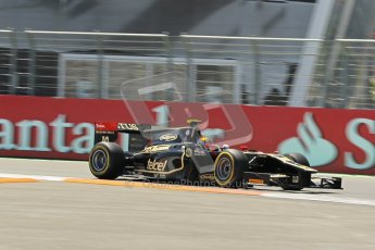 © 2012 Octane Photographic Ltd. European GP Valencia - Saturday 23rd June 2012 - GP2 Race 1 - Lotus GP - Esteban Gutierrez. Digital Ref : 0372lw1d5438