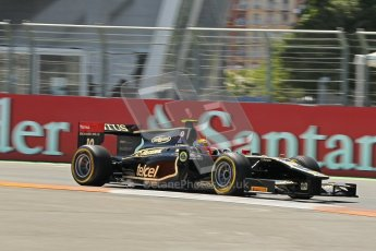 © 2012 Octane Photographic Ltd. European GP Valencia - Saturday 23rd June 2012 - GP2 Race 1 - Lotus GP - Esteban Gutierrez. Digital Ref : 0372lw1d5439