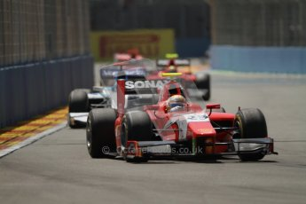 © 2012 Octane Photographic Ltd. European GP Valencia - Saturday 23rd June 2012 - GP2 Race 1 - Arden International - Luiz Razia. Digital Ref : 0372lw7d2236