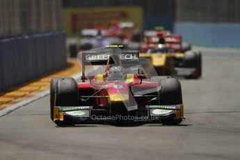 © 2012 Octane Photographic Ltd. European GP Valencia - Saturday 23rd June 2012 - GP2 Race 1 - Racing Engineering - Nathanael Berthon. Digital Ref : 0372lw7d2260