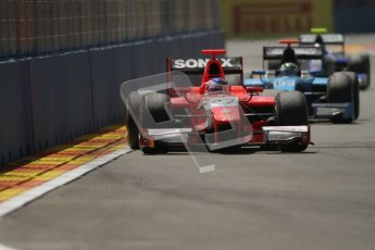 © 2012 Octane Photographic Ltd. European GP Valencia - Saturday 23rd June 2012 - GP2 Race 1 - Arden International - Simon Trummer. Digital Ref : 0372lw7d2273