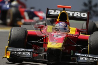 © 2012 Octane Photographic Ltd. European GP Valencia - Saturday 23rd June 2012 - GP2 Race 1 - Racing Engineering - Fabio Leimer. Digital Ref : 0372lw7d2492