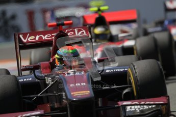 © 2012 Octane Photographic Ltd. European GP Valencia - Saturday 23rd June 2012 - GP2 Race 1 - Venezuela GP Lazarus - Fabrizio Crestani. Digital Ref : 0372lw7d2655