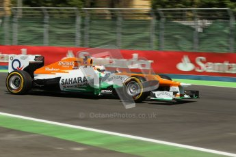 © 2012 Octane Photographic Ltd. European GP Valencia - Saturday 23rd June 2012 - F1 Practice 3. Force India VJM05 - Paul di Resta. Digital Ref : 0371lw1d4733