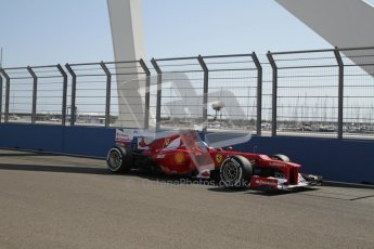 © 2012 Octane Photographic Ltd. European GP Valencia - Saturday 23rd June 2012 - F1 Practice 3. Ferrari F2012 - Fernando Alonso. Digital Ref : 0371lw7d1263