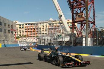 © 2012 Octane Photographic Ltd. European GP Valencia - Sunday 24th June 2012 - GP2 Race 2 - Caterham Racing - Rodolfo Gonzalez. Digital Ref : 0375lw1d6318