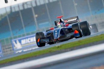 © Chris Enion/Octane Photographic Ltd. Formula Renault 3.5 Qualifying 1 – Silverstone. Saturday 25th August 2012. Kevin Magnussen - Carlin. Digital ref : 0469ce1d0247