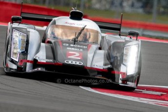 © Chris Enion/Octane Photographic Ltd. FIA WEC Free practice 3 – Silverstone. Saturday 25th August 2012. Audi R18 Ultra - Audi Sport Team Joest. Alan McNish, Tom Kristensen. Digital ref : 0470ce1d0034