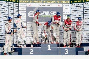 © Chris Enion/Octane Photographic Ltd. FIA WEC Podium – Silverstone. Sunday 26th August 2012. Digital ref : 0477ce1d0214