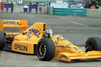 © Jones Photography 2012. 2nd June 2012 - Steve Griffiths, 1989 Lotus 101, Pembrey, Welsh Motorsport Festival. Digital Ref : 0366CJ0996