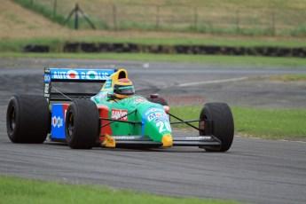 © Jones Photography 2012. 2nd June 2012 - John Reaks, 1990 Benetton B190, Pembrey, Welsh Motorsport Festival. Digital Ref : 0366CJ1573