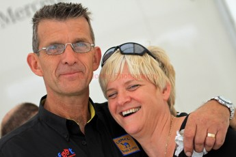 © Jones Photography 2012. 2nd June 2012 - Ray and Sue Austin, Pembrey, Welsh Motorsport Festival. Digital Ref : 0366CJ2055