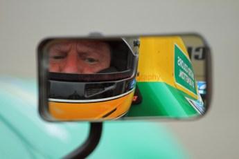 © Jones Photography 2012. 2nd June 2012 - John Reaks, 1990 Benetton B190, Pembrey, Welsh Motorsport Festival. Digital Ref : 0366CJ2104