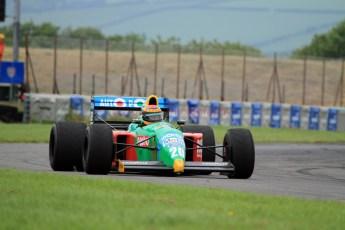 © Jones Photography 2012. 2nd June 2012 - John Reaks, 1990 Benetton B190, Pembrey, Welsh Motorsport Festival. Digital Ref : 0366CJ2142