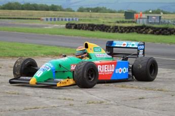 © Jones Photography 2012. 2nd June 2012 - John Reaks, 1990 Benetton B190, Pembrey, Welsh Motorsport Festival. Digital Ref : 0366CJ2264