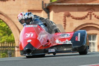 © Octane Photographic Ltd. Wirral 100, 28th April 2012. ACU/FSRA British F2 Sidecars Championship. Race. Nicholas Dukes/William Moralee - BLR. Digital ref : 0310cb1d5425