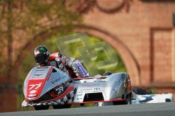 © Octane Photographic Ltd. Wirral 100, 28th April 2012. ACU/FSRA British F2 Sidecars Championship. Tim Reeves/Dipash Chanhan - LCR Honda. Race. Digital ref : 0310cb1d5431