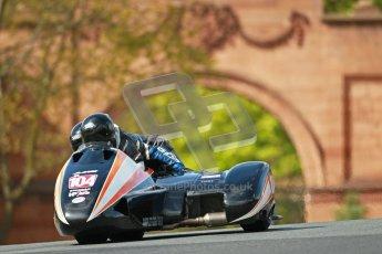 © Octane Photographic Ltd. Wirral 100, 28th April 2012. ACU/FSRA British F2 Sidecars Championship. Frank Lelias/Mike Aylott - LCR Suzuki. Race. Digital ref : 0310cb1d5436