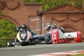 © Octane Photographic Ltd. Wirral 100, 28th April 2012. ACU/FSRA British F2 Sidecars Championship. Frank Lelias/Mike Aylott - LCR Suzuki. Race. Digital ref : 0310cb1d5520