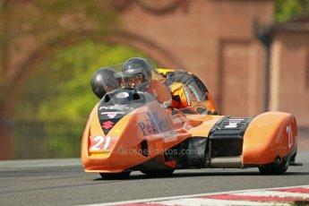 © Octane Photographic Ltd. Wirral 100, 28th April 2012. ACU/FSRA British F2 Sidecars Championship. Race. Dean Lindley/Leon Fitzpatrick - LCR Suzuki. Digital ref : 0310cb1d5525