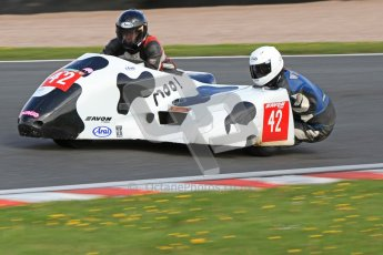 © Octane Photographic Ltd. Wirral 100, 28th April 2012. ACU/FSRA British F2 Sidecars Championship. Miles Bennett/Shelley Smithies - Shelbourne Honda. Free Practice.  Digital ref :