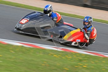 © Octane Photographic Ltd. Wirral 100, 28th April 2012. ACU/FSRA British F2 Sidecars Championship. David Lille/Ben Chandler - DMR Yamaha. Free Practice.  Digital ref : 0310cb7d8710