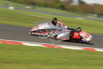 © Octane Photographic Ltd. Wirral 100, 28th April 2012. ACU/FSRA British F2 Sidecars Championship. Tim Reeves/Dipash Chanhan - LCR Honda. Free Practice. Digital ref :