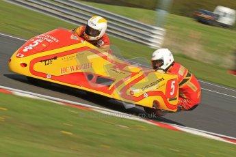 © Octane Photographic Ltd. Wirral 100, 28th April 2012. ACU/FSRA British F2 Sidecars Championship. Carl Fenwick/Mark Sayers - Shelbourne Honda. Free Practice.  Digital ref : 0310cb7d8816