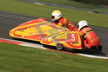 © Octane Photographic Ltd. Wirral 100, 28th April 2012. ACU/FSRA British F2 Sidecars Championship. Carl Fenwick/Mark Sayers - Shelbourne Honda. Free Practice.  Digital ref : 0310cb7d8889