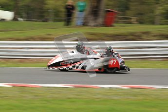 © Octane Photographic Ltd. Wirral 100, 28th April 2012. ACU/FSRA British F2 Sidecars Championship. Tim Reeves/Dipash Chanhan - LCR Honda. Qualifying.  Digital ref : 0310cb7d9064