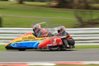 © Octane Photographic Ltd. Wirral 100, 28th April 2012. ACU/FSRA British F2 Sidecars Championship. Ian Bell/Carl Bell - LCR Yamaha. Qualifying.  Digital ref : 0310cb7d9106