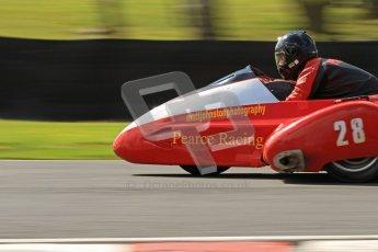 © Octane Photographic Ltd. Wirral 100, 28th April 2012. ACU/FSRA British F2 Sidecars Championship. Russ Pearce/Rod Pearce - LCR Suzuki. Race. Digital ref : 0310cb7d9166