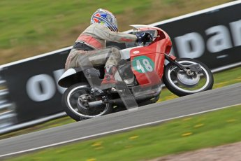 © Octane Photographic Ltd. Wirral 100, 28th April 2012. Classic bikes, 125ccGP and F125, John Foy - 247 Ariel Arrow, Qualifying race. Digital ref : 0304cb7d9005
