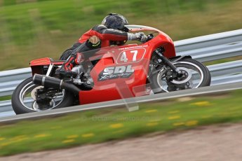 © Octane Photographic Ltd. Wirral 100, 28th April 2012. Classic bikes, 125ccGP and F125, Qualifying race. Digital ref : 0304cb7d9009