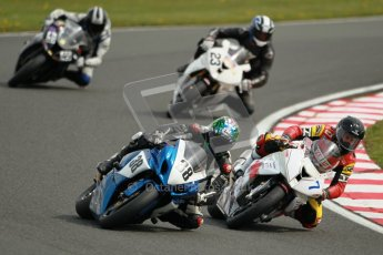 © Octane Photographic Ltd. Wirral 100, 28th April 2012. Powerbikes. Qualifying race. Digital ref : 0305cb1d4726