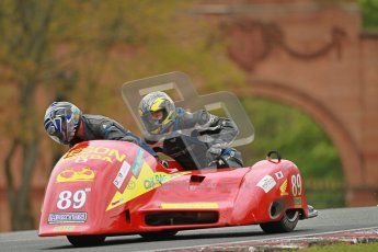 © Octane Photographic Ltd. Wirral 100, 28th April 2012. Sidecars. Qualifying race. Craig Hauxwell/David Williams. Digital ref : 0308cb1d5183