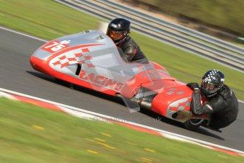 © Octane Photographic Ltd. Wirral 100, 28th April 2012. Sidecars. . Free Practice. John Shipley/Stephen Cunliffe. Digital ref : 0310cb7d8828