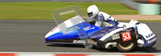 © Octane Photographic Ltd. Wirral 100, 28th April 2012. Sidecars. Free Practice. Digital ref : 0310cb7d8882