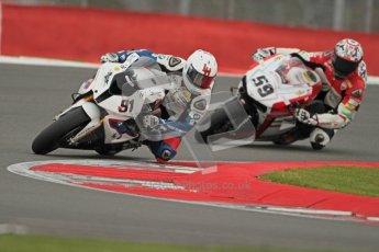 © Octane Photographic Ltd. World Superbike Championship – Silverstone, 1st Free Practice. Friday 3rd August 2012. Leon Haslam - BMW S1000 RR - BMW Motorrad Motorsport.  Digital Ref : 0443cb1d0081