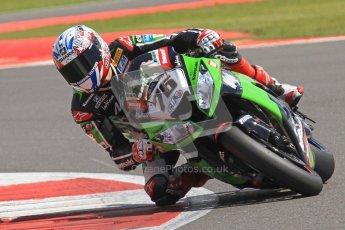 © Octane Photographic Ltd. World Superbike Championship – Silverstone, 2nd Free Practice. Saturday 4th August 2012. Digital Ref : 0446cb7d1675