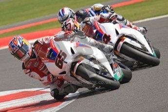 © Octane Photographic Ltd. World Superbike Championship – Silverstone, 2nd Free Practice. Saturday 4th August 2012. Jonathan Rea - Honda CBR1000RR - Honda World Superbike Team. Digital Ref : 0446cb7d1742