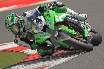 © Octane Photographic Ltd. World Superbike Championship – Silverstone, 2nd Free Practice. Saturday 4th August 2012. Digital Ref : 0446cb7d1802