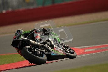 © Octane Photographic Ltd. World Superbike Championship – Silverstone, 2nd Qualifying Practice. Saturday 4th August 2012. Tom Sykes - Kawasaki ZX-10R - Kawasaki Racing Team. Digital Ref : 0445lw1d1207