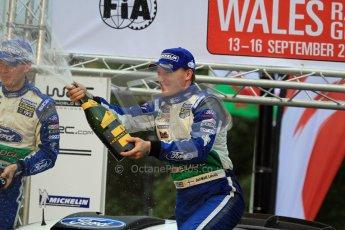 Jari-Matti Latvala and Miikka Anttila, Ford Festa WRC, Wales Rally GB 2012