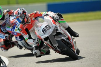 © Octane Photographic Ltd. 2012 World Superbike Championship – European GP – Donington Park. Friday 11th May 2012. WSBK Free Practice. Niccolo Canepa - Ducati 1098R. Digital Ref : 0328cb1d2190