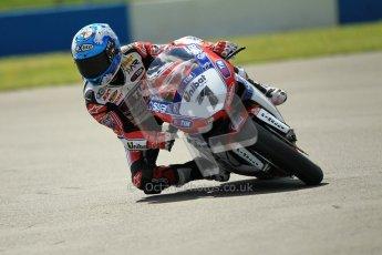 © Octane Photographic Ltd. 2012 World Superbike Championship – European GP – Donington Park. Friday 11th May 2012. WSBK Free Practice. Carlos Checa - Ducati 1098R. Digital Ref : 0328cb1d2221